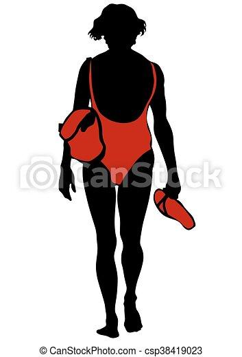 Swimsuit - csp38419023