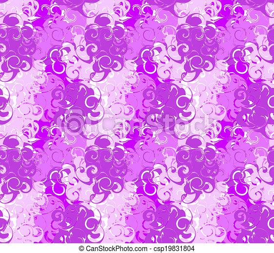 Swirl Abstract Seamless Pattern - csp19831804