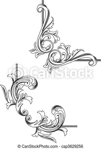 Swirl elements - csp3629256