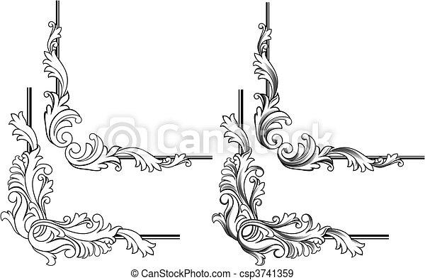 Swirl elements - csp3741359