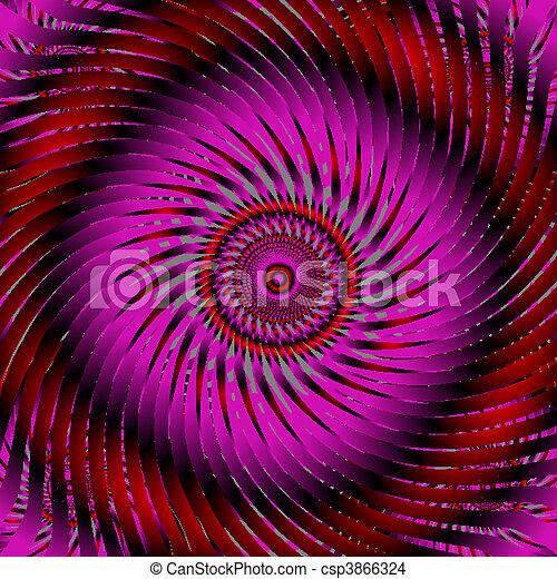 swirl purple abstract - csp3866324