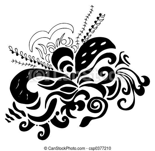 swirls design