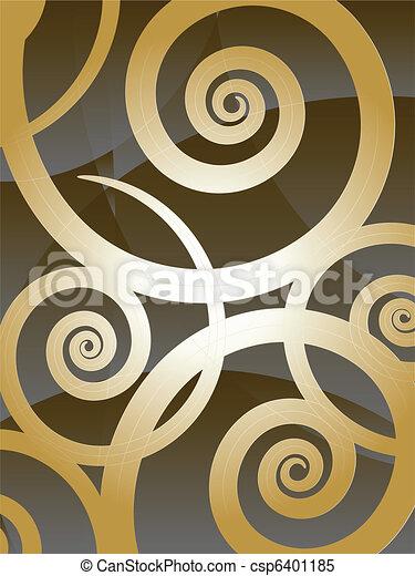 swirly background - csp6401185