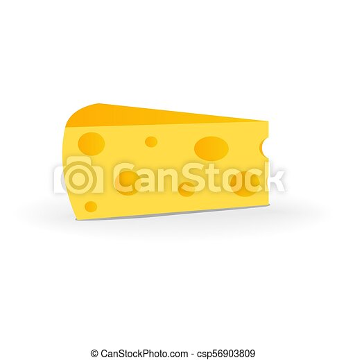 swiss cheese isolated on white background with shadow rh canstockphoto com Giraffe Clip Art Giraffe Clip Art
