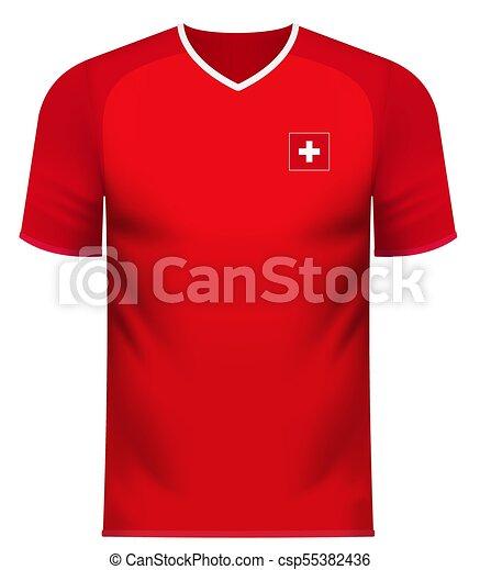 new style 58f19 c21ca Switzerland generic national colors team apparel