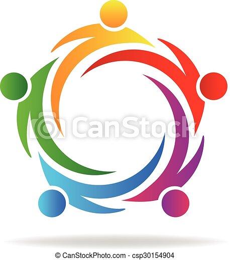 swooshes, logotipo - csp30154904