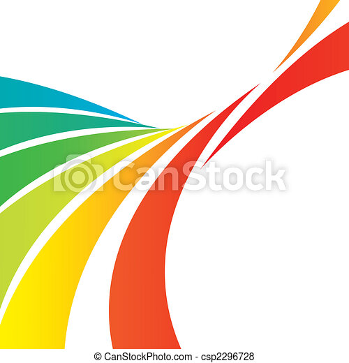 swooshy lines layout a colorful abstract design template stock rh canstockphoto com Decorative Line Clip Art Decorative Scroll Clip Art