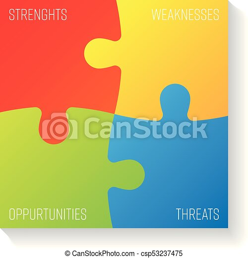 Swot business infographic diagram or swot matrix used to evaluate swot business infographic diagram or swot matrix used to evaluate the strengths weaknesses opportunities and threats involved in a project vector ccuart Image collections