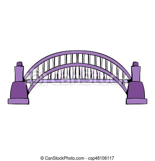 sydney harbour bridge icon cartoon sydney harbour bridge clipart rh canstockphoto com bridge clipart transparent bridge clipart free