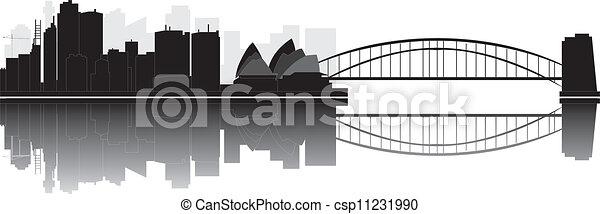 Sydney skyline - csp11231990