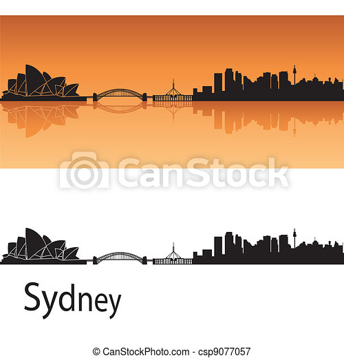Sydney skyline - csp9077057