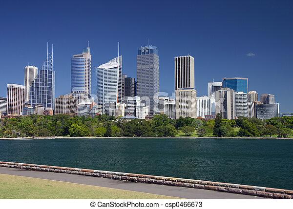 Sydney skyline - csp0466673