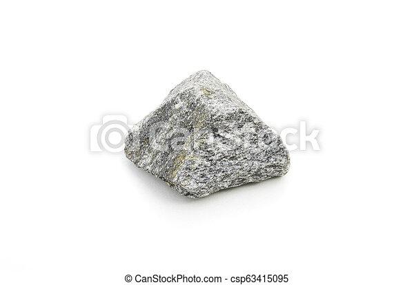 syenite isolated over white - csp63415095