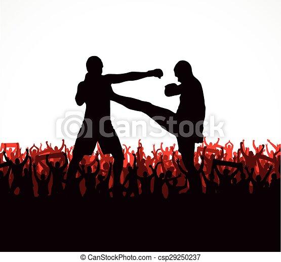 sylwetka, ludzie., poster., lekkoatletyka - csp29250237