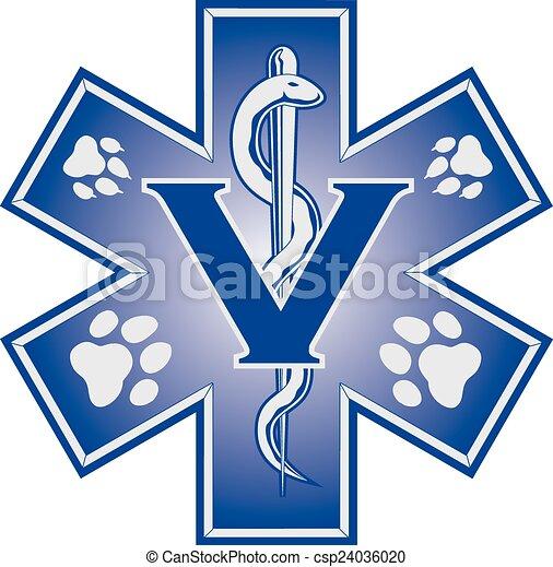 symb, medico, veterinario, emergenza - csp24036020
