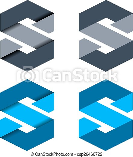 La carta abstracta del vector S - csp26466722