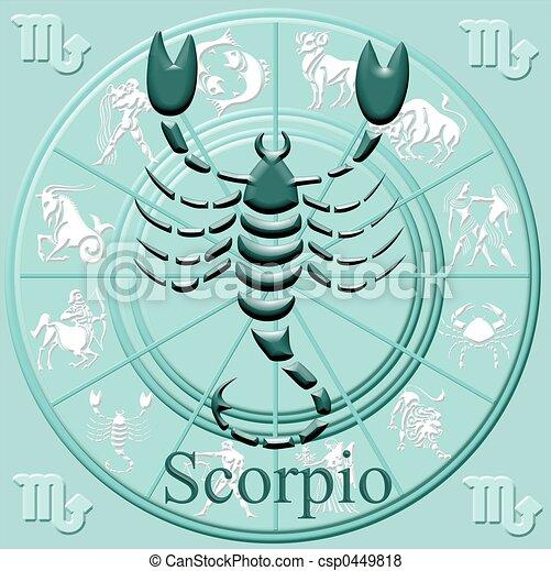 symbol, astrologie - csp0449818