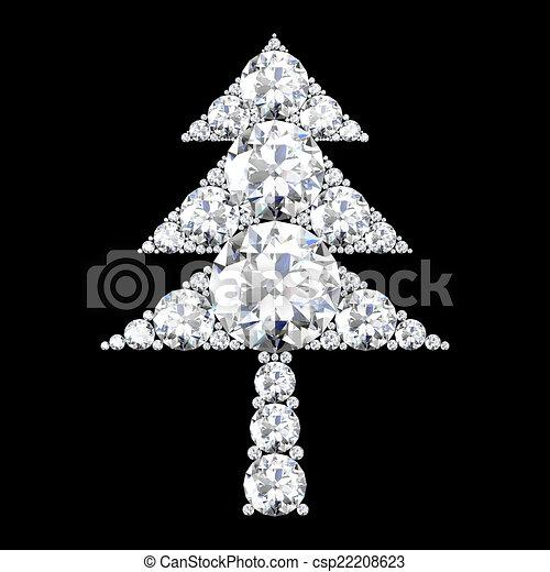 Symbol baum hoch schwarzer hintergrund qualit t weihnachten - Schwarzer weihnachtsbaum ...