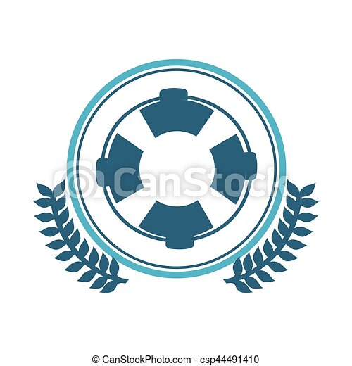 00b0b2e64bfd Symbol blue lifeguard float icon