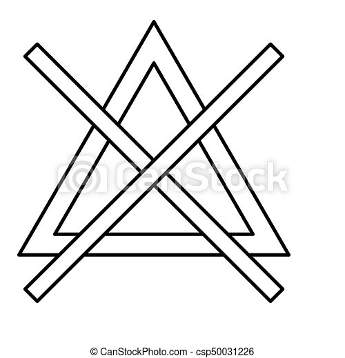 Symbol Do Not Bleach Black Color Icon Symbol Do Not Bleach It Is