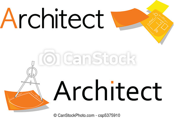 Symbol For Architect Professional Symboldesign For Vector