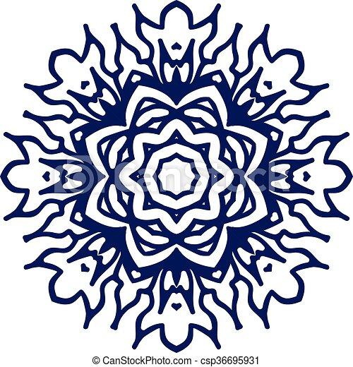 Symbol Frieden Liebe Frieden Liebe Mandala Hintergrund