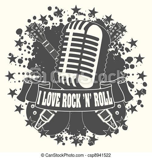 Symbol I Love A Rocknroll