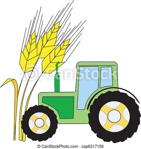 symbol, landwirtschaft - csp6317156