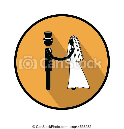 symbol married couple icon image vector illustration vector rh canstockphoto ca wedding couple clipart wedding couple clipart pictures