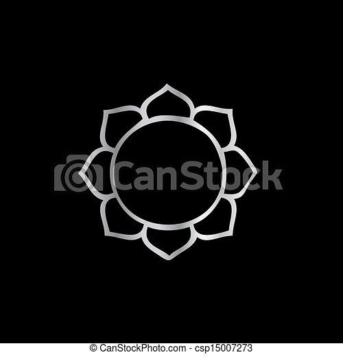 Symbol Of Buddhism Lotus Flower