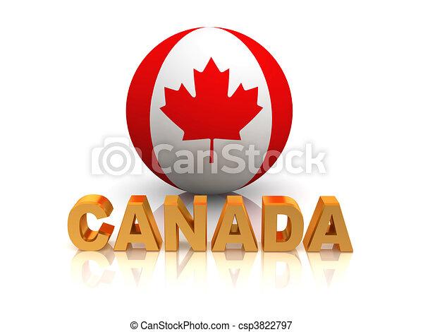 Symbol Of Canada 3d