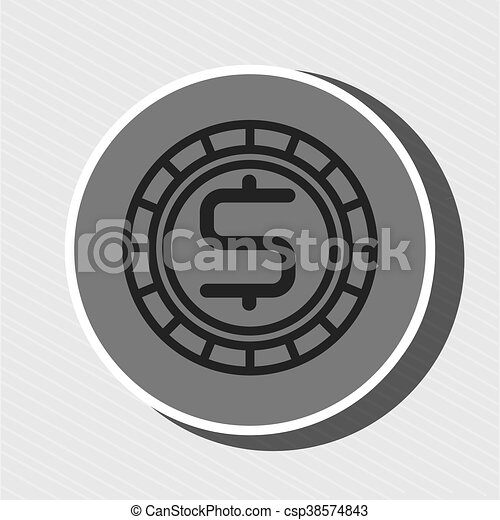 Symbol Of Currency Green Isolated Icon Design Symbol Of Currency