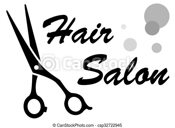symbol of hair salon - csp32722945