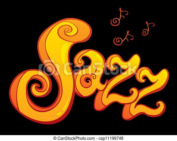 symbol of Jazz - csp11199748