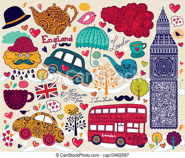 Symbol of London - csp10402097
