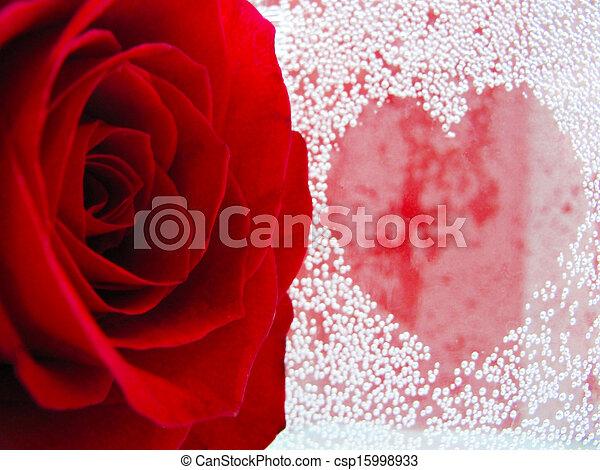symbol of passion and love - csp15998933