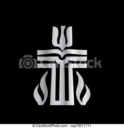 Symbol of Presbyterian religion - csp15017111