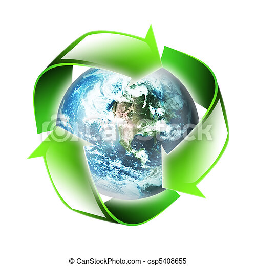 symbol of the environment - csp5408655