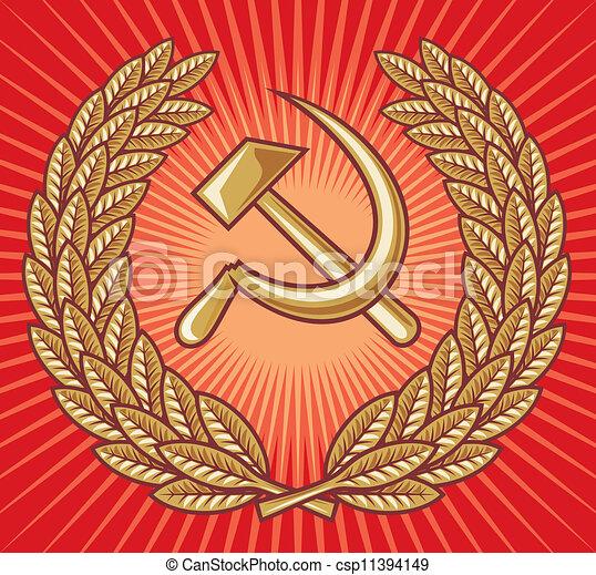 symbol of USSR - csp11394149