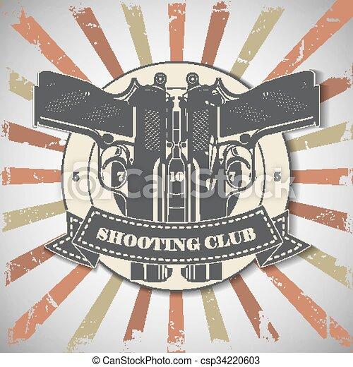 Symbol shooting club - csp34220603