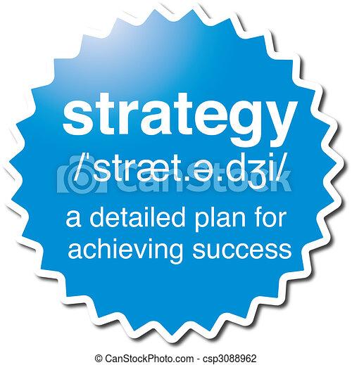 symbol, strategie - csp3088962