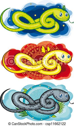 symbol, the snake - csp11662122