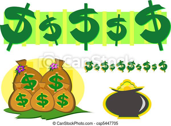 symbole argent richesse or m lange symbols richesse clipart vectoriel rechercher. Black Bedroom Furniture Sets. Home Design Ideas