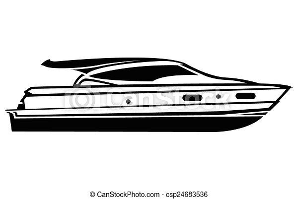 symbole, bateau - csp24683536