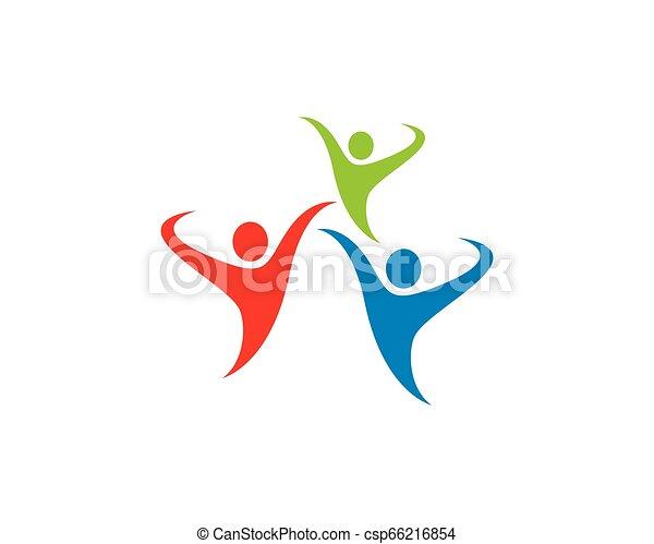 symbole, communauté, illustration - csp66216854
