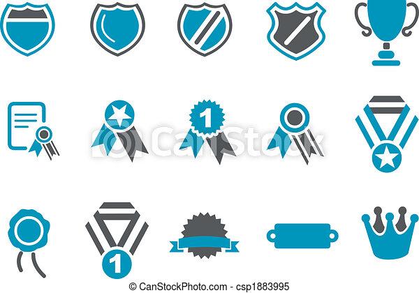 symbole, ikona, komplet - csp1883995