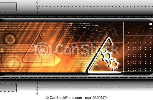 symbole, industriel - csp10302570