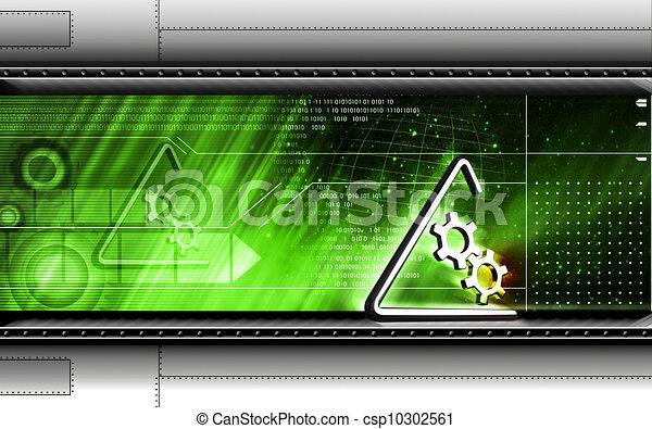 symbole, industriel - csp10302561