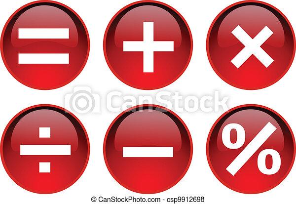 symbole, math - csp9912698