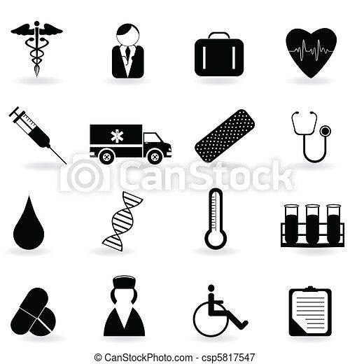 symboles, healthcare - csp5817547